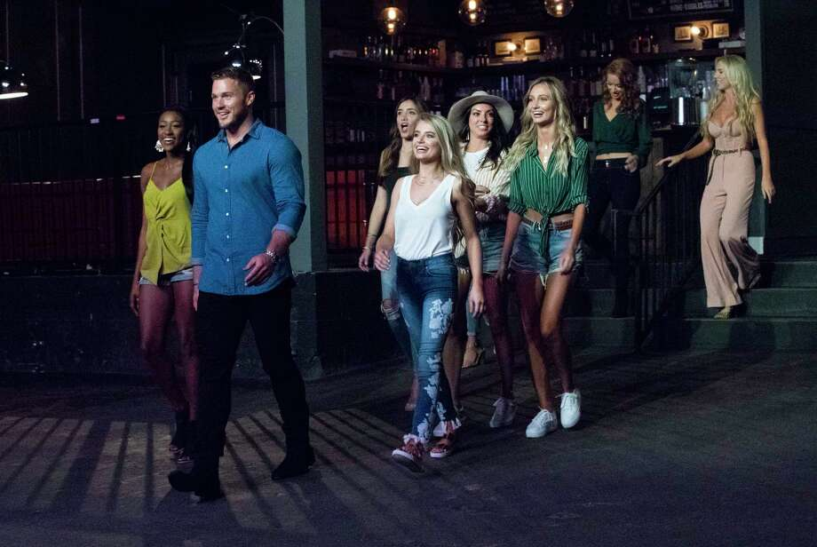 "Colton Underwood, second from left, searches for love on ""The Bachelor."" Photo: Rick Rowell, ABC / © 2018 American Broadcasting Companies, Inc."