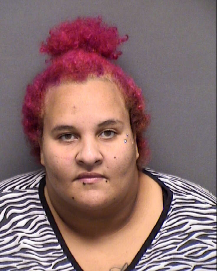 Sarah Salas, 20, was arrested on suspicion of theft. Photo: Bexar County Jail