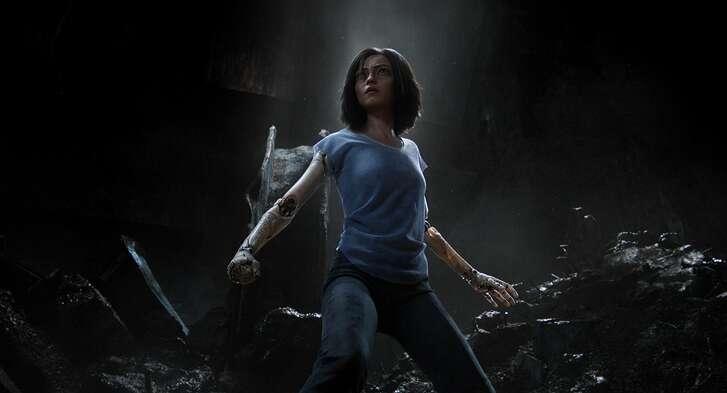 Rosa Salazar in 'Alita: Battle Angel'