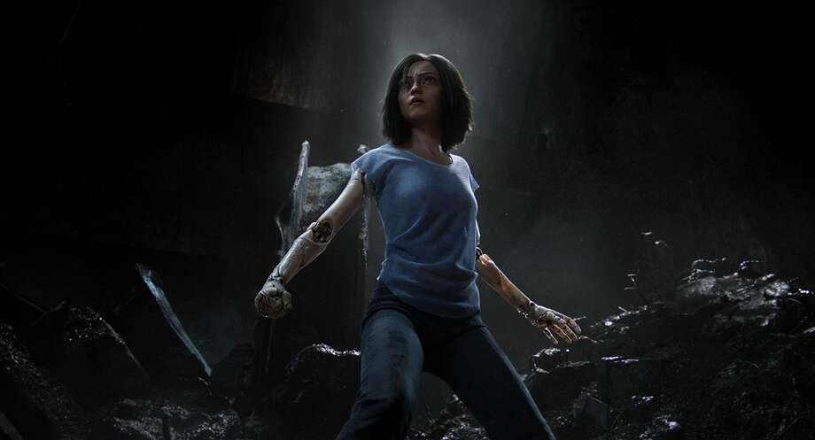 Rosa Salazar in 'Alita: Battle Angel' Photo: Twentieth Century Fox