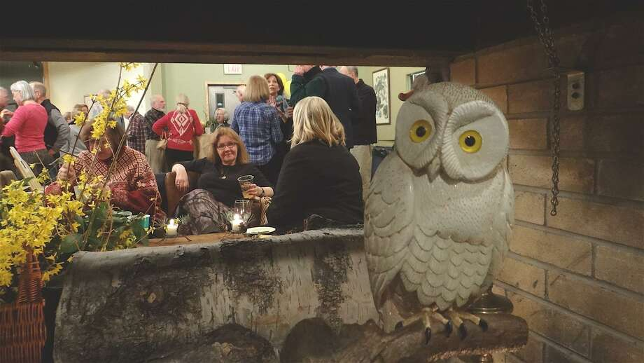 The Connecticut Audubon Society's Center at Fairfield will be transformed into a rustic mountain lodge for Adirondack Night on Saturday, March 2. Photo: Contributed Photo / Mike Lauterborn