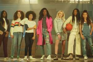 """KELLY ROWLAND:  Kelly Rowland and Dove released  a music video for her song, """"Crown,"""" available on YouTube  ,   which  shares the empowering stories of the girls' who inspired the song. All  of them have faced bullying and discrimination for their hair. Dove  invited these girls and more to star alongside Kelly in the video."""