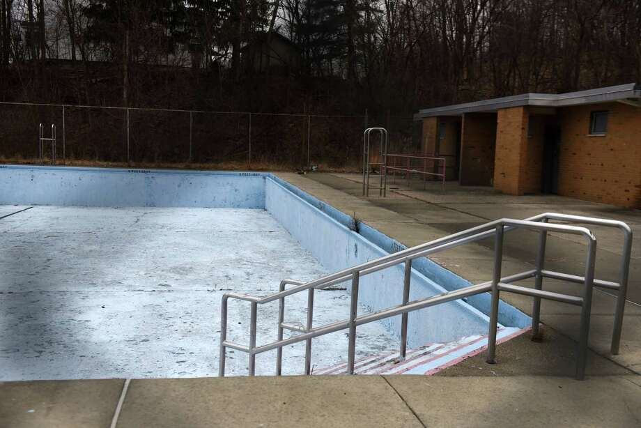 The South Troy Pool on Tuesday, Feb. 12, 2019, in Troy, N.Y. As he prepares to run for re-election, Mayor Patrick Madden is trying to come up with a way to re-open its closed pool and avoid a third year of no pools in the city. (Will Waldron/Times Union) Photo: Will Waldron, Albany Times Union / 40046178A