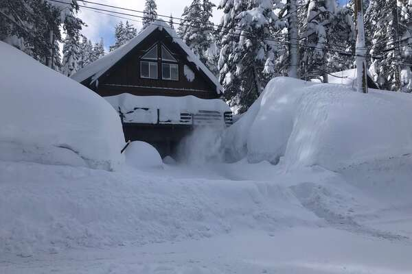 Snow melt? Warm winter storm taking aim at Sierra Nevada