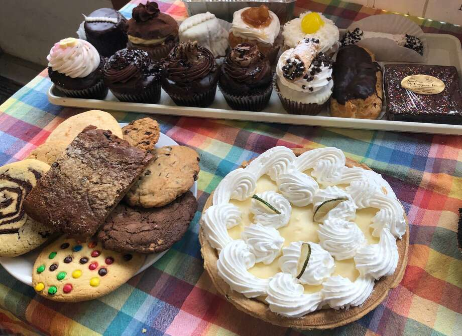 American Pie Company in Sherman is well known for its homestyle cooking and delicious baked goods, like the assortment of cupcakes, pies, cookies, brownies and other treats shown above. Photo: Deborah Rose / Hearst Connecticut Media / The News-Times  / Spectrum
