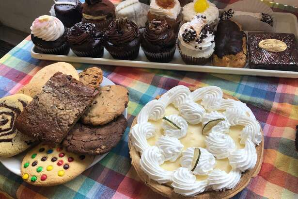 American Pie Company in Sherman is well known for its homestyle cooking and delicious baked goods, like the assortment of cupcakes, pies, cookies, brownies and other treats shown above.