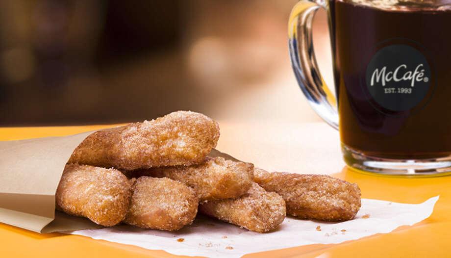 McDonald's new Donut Sticks. Photo: McDonald's