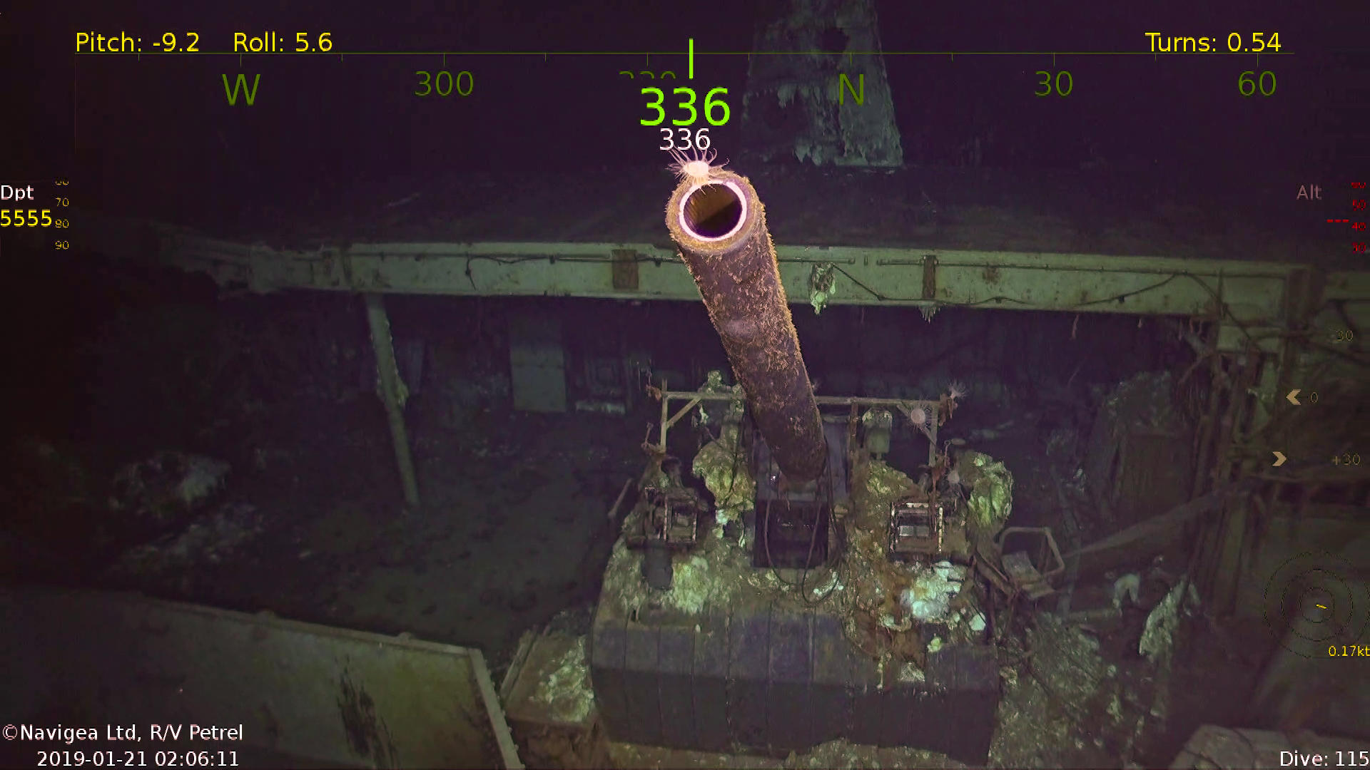 WWII aircraft carrier that set sail from Alameda discovered at