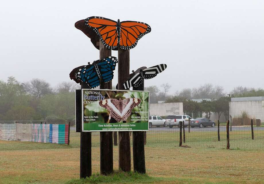 The entrance to the National Butterfly Center on January 15, 2019, in Mission, Texas. - The protected habitat of butterflies along the Rio Grande is expected to be plowed over to clear the way for President Trump's border wall after the US Supreme Court rebuffed a challenge by environmental groups. (Photo by SUZANNE CORDEIRO / AFP)SUZANNE CORDEIRO/AFP/Getty Images Photo: Suzanne Cordeiro, AFP/Getty Images