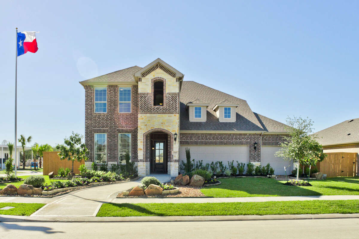A model home by HistoryMaker Homes in Balmoral, a master planned community by Land Tejas in the Humble area.
