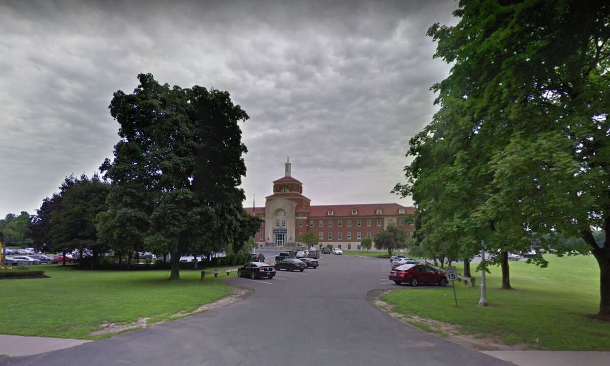 A Google Street View photo shows the state Department of Corrections and Community Supervision's Albany Training Academy in July 2018.
