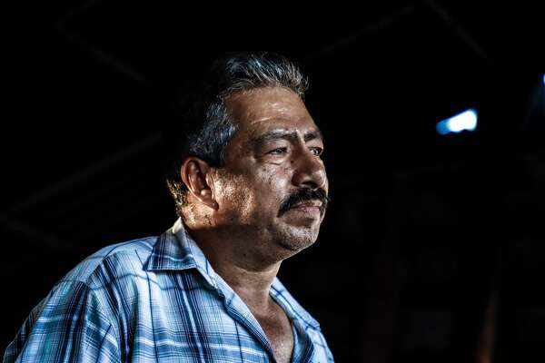 """Mexican Jaime Lajia speaks at his house in Badiraguato -Mexican mobster Joaquin """"El Chapo"""" Guzman's hometown-, Sinaloa State, Mexico on February 8, 2019. - If """"El Chapo"""" returned to Badiraguato it would be a relief for its inhabitants because, according to them, there was neither poverty nor violence when he was there. Guzman was found guilty Tuesday by a New York jury of crimes spanning a quarter of a century as head of one of the world's most powerful drugs gangs. (Photo by RASHIDE FRIAS / AFP)RASHIDE FRIAS/AFP/Getty Images"""