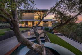 "Architect Malika Junaid's Los Altos Hills home takes inspiration from ""Star Trek"" as well as sustainability principles."