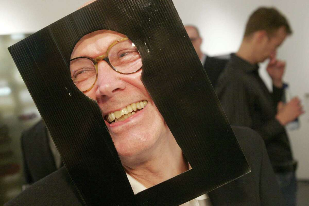 """Bill Lassiter at DiverseWorks' wild and woolly """"Voyeur"""" benefit party in 2005."""
