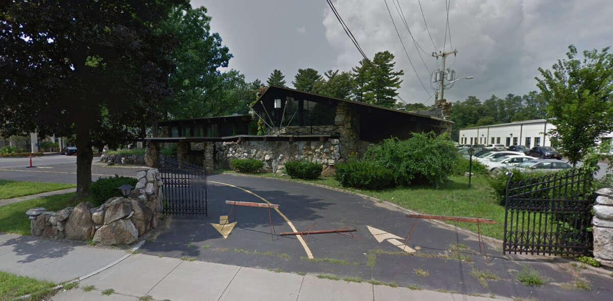 The site at 129 S. Broadway in Saratoga Springs, which will be the temporary home of Panza's Restaurant.