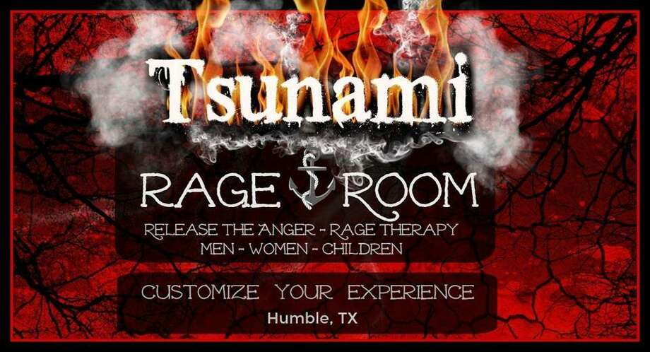 The rage room in Humble Market is available by-appointment only and has different options to choose from. More room types will be available in April. Photo: Courtesy Of Theresa Padon