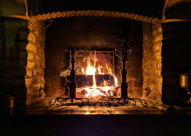 Sonoma and Napa fireplace wineries perfect for escaping the cold
