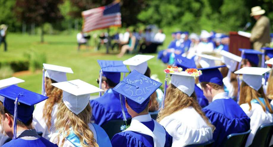 File photo of a Shepaug Valley School commencement ceremony. Photo: Hearst Connecticut Media File Photo / The News-Times Freelance