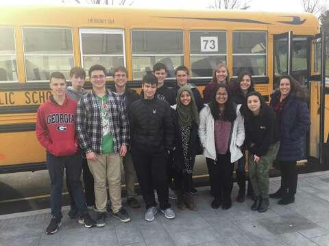 Danbury High students participate in first Yale Model U N