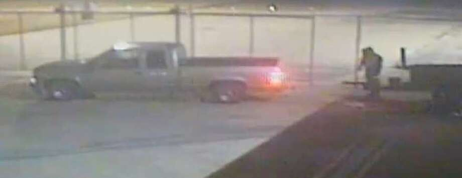 BPD is asking for help on locating the suspects involved in a theft of a BBQ Pit. Photo: Beaumont Police Department