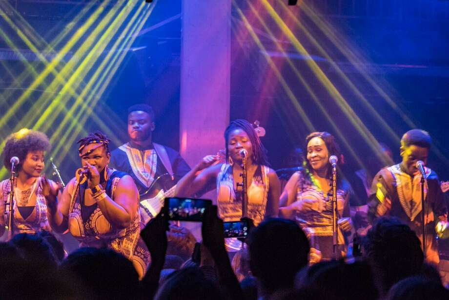 "The London African Gospel Choir, together with its band, will perform its own twist on Paul Simon's ""Graceland"" at College Street Music Hall in New Haven Feb. 21. Photo: Facebook / Contributed Photo / Connecticut Post Contributed"