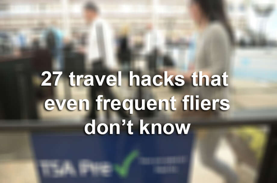 27 travel hacks that even frequent fliers don't know. Photo: Photo: Cyrus McCrimmon/Denver Post Via Getty Images