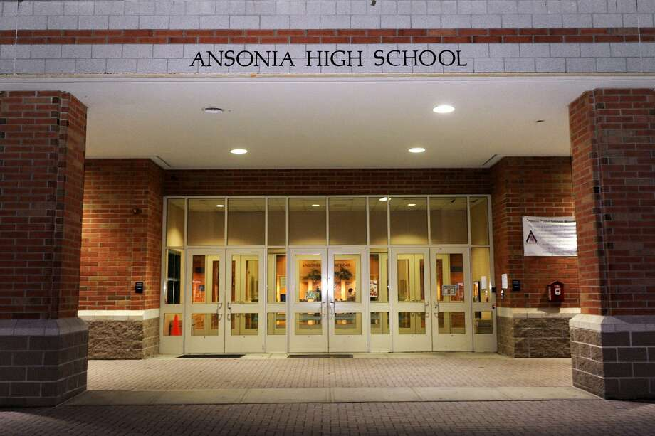 Exterior of Ansonia High School Photo: Ned Gerard / Ned Gerard / Connecticut Post