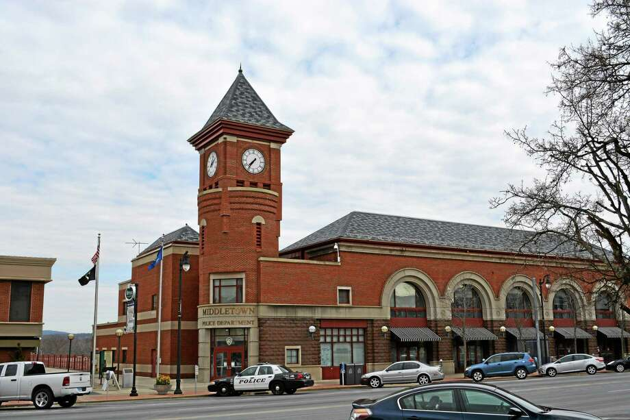 Middletown Police Department on Main Street Photo: File Photo