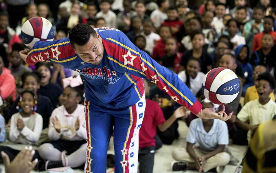 The Globetrotters visit the University of Houston campus, this weekend. Photo: Brett Coomer, Houston Chronicle / Staff Photographer / © 2019 Houston Chronicle