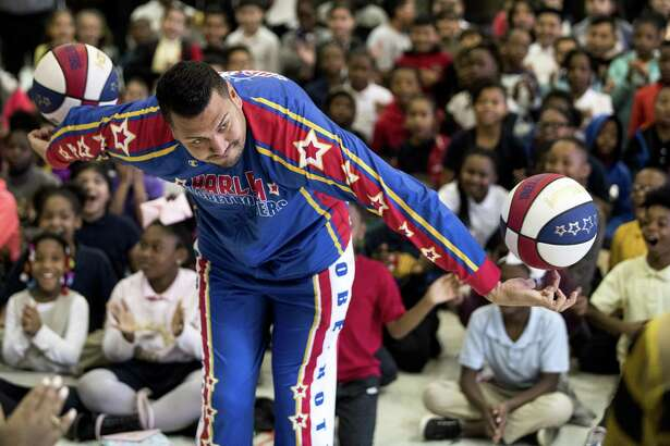 The Globetrotters visit the University of Houston campus, this weekend.