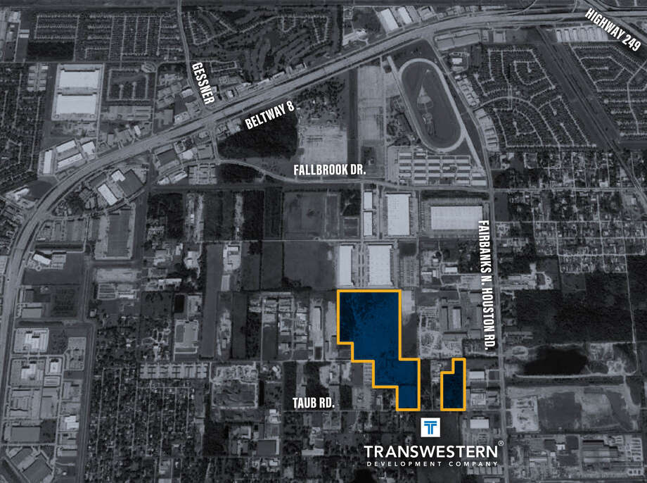 The Sam Houston Distribution Center will be developed on a 60-acre infill site in northwest Houston. Photo: Transwestern