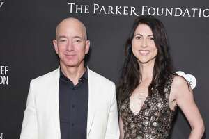 CEO Jeff Bezos' affair — he and wife MacKenzie, above, are divorcing — shows that good judgment in business apparently doesn't insulate one from poor personal decisions.