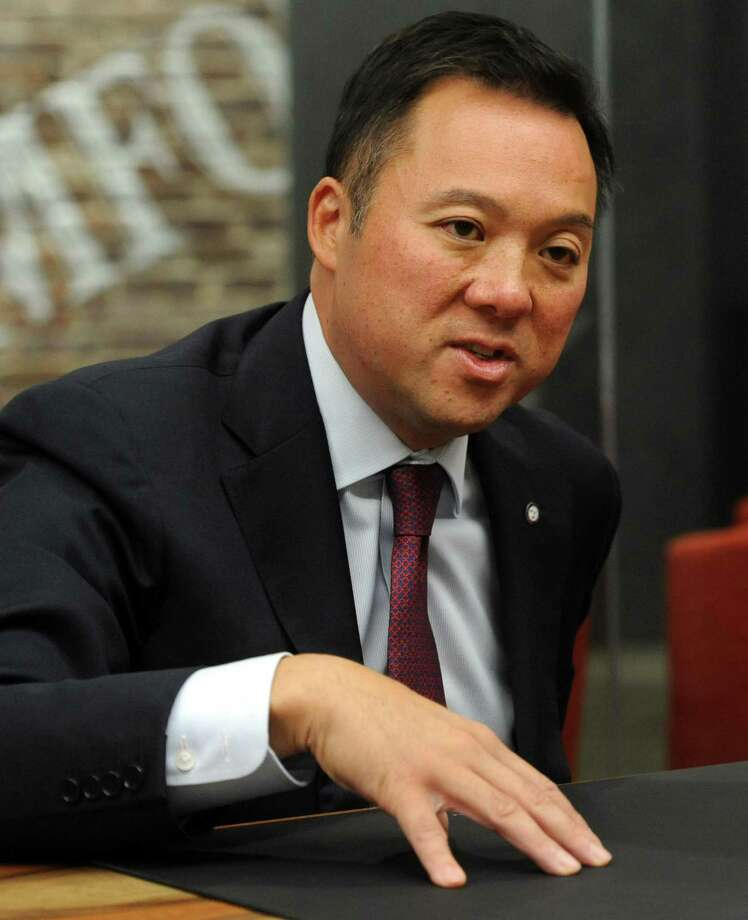 William Tong, Democratic candidate for state attorney general. Photo: Earst Connecticut Media / Connecticut Post