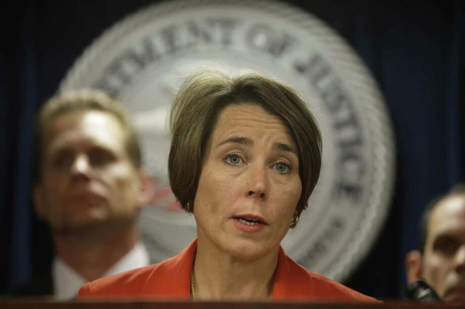 Massachusetts Attorney General Maura Healey sued Purdue Pharma and its owners in June 2018. Photo: Steven Senne / Associated Press / AP