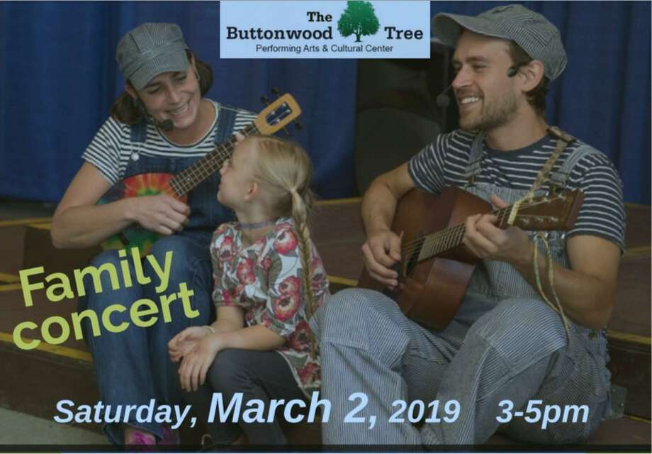 Sunny Train, a musical children's show, is coming to the Buttonwood Tree in Middletown on Saturday, March 2. Photo: Contributed Photo