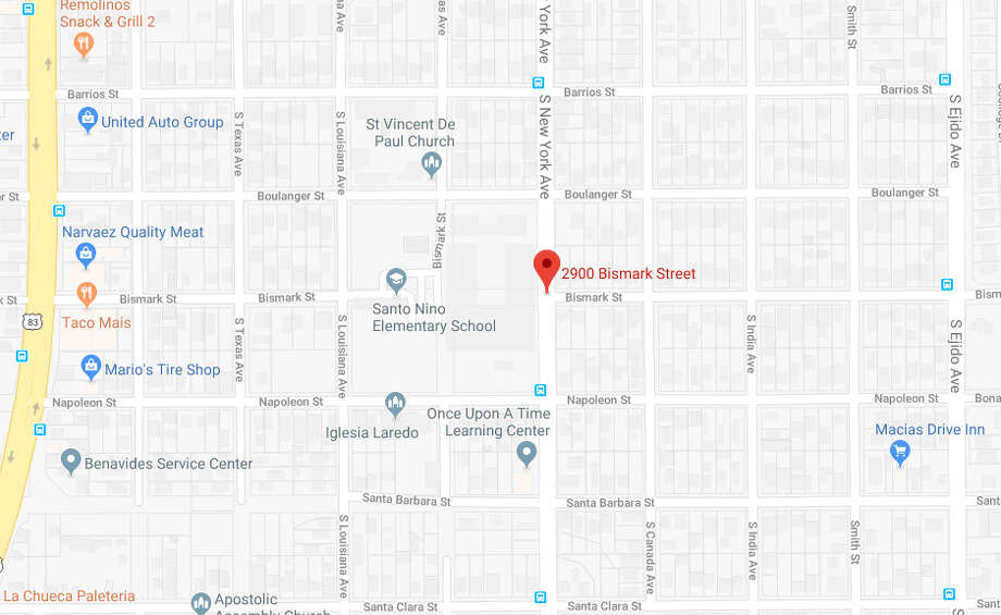 Authorities said an 83-year-old man exposed himself to a 7-year-old girl Monday in the 2900 block of Bismark Street. Photo: Google Maps