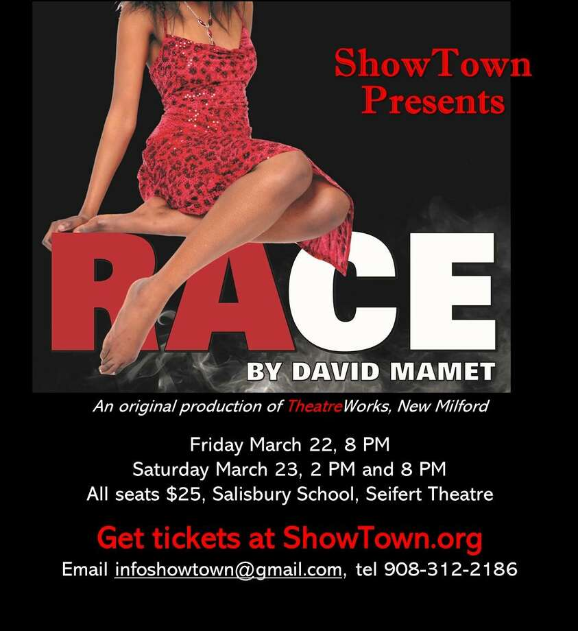 "ShowTown, a new theater group in Lakeville, is staging ""Race"" in Salisbury March 22-23. Photo: Contributed Photo"
