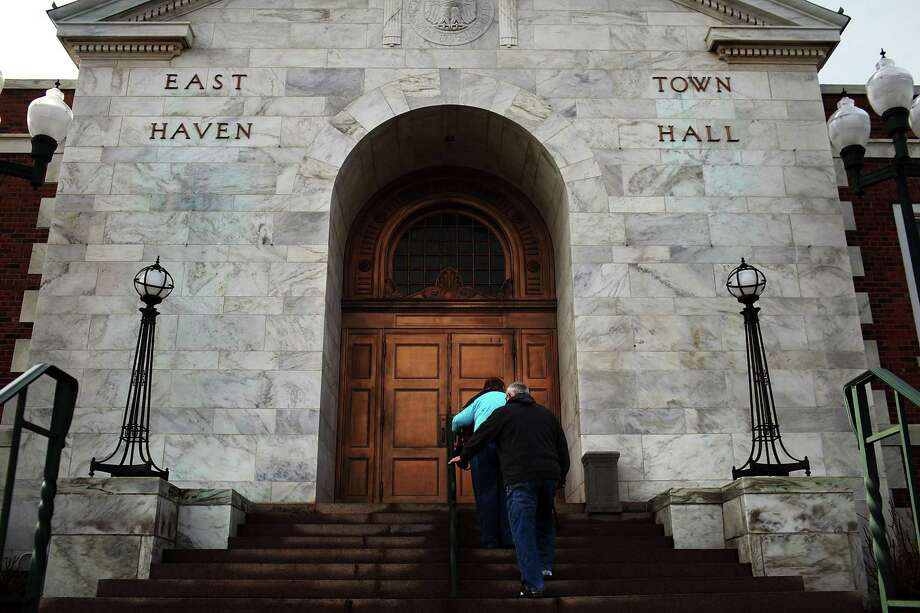 East Haven Town Hall Photo: Spencer Platt / Getty Images / 2012 Getty Images