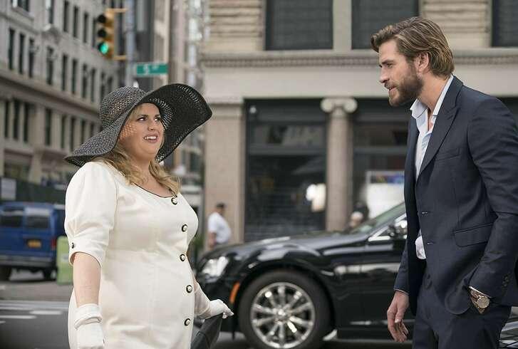 Rebel Wilson and Liam Hemsworth in 'Isn't It Romantic?'