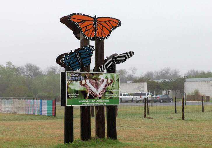 The entrance to the National Butterfly Center on January 15, 2019, in Mission, Texas. (Suzanne Cordeiro/AFP/Getty Images/TNS)