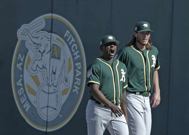 A's A.J. Puk, Jharel Cotton take big step in Tommy John recovery