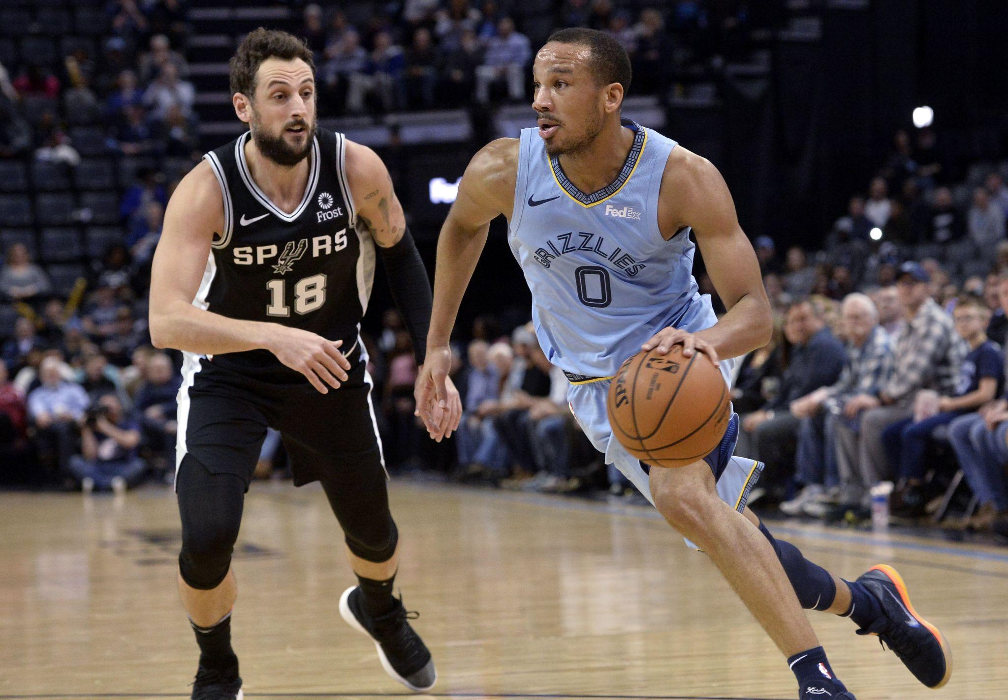 Spurs Survive Scare Halt Skid In Memphis San Antonio Express News
