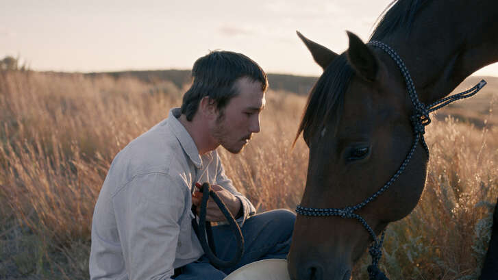 """""""The Rider"""" is based on events in the life   of former rodeo star Brady Jandreau."""