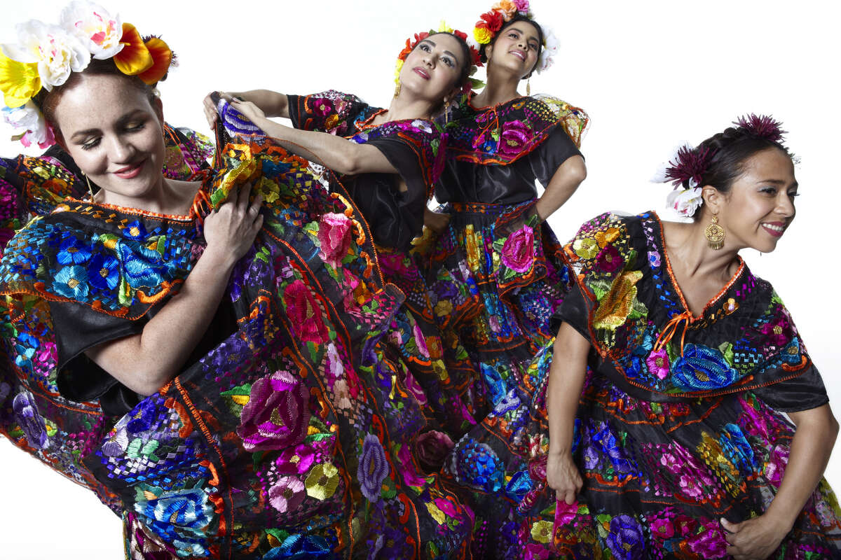 """The Indo-American Association presents Calpulli Mexican Dance Company's """"Puebla: The Story of Cinco de Mayo"""" on May 3 at the Wortham Theater Center."""