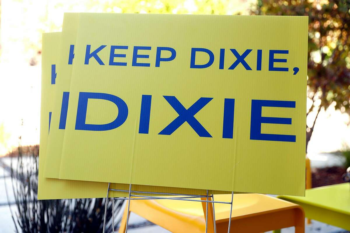 Dixie School District board member Marnie Glickman is trying to help change the name of her district in San Rafael, Calif. on Thursday, October 18, 2018.