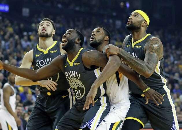 Golden State's defense tightens for fourth-quarter run over Utah Jazz