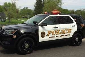 Newtown Police Department vehicle.