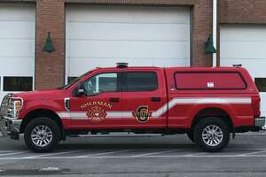 Sherman Volunteer Fire Department vehicle.