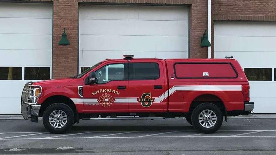 Sherman Volunteer Fire Department vehicle. Photo: Sherman Volunteer Fire Department