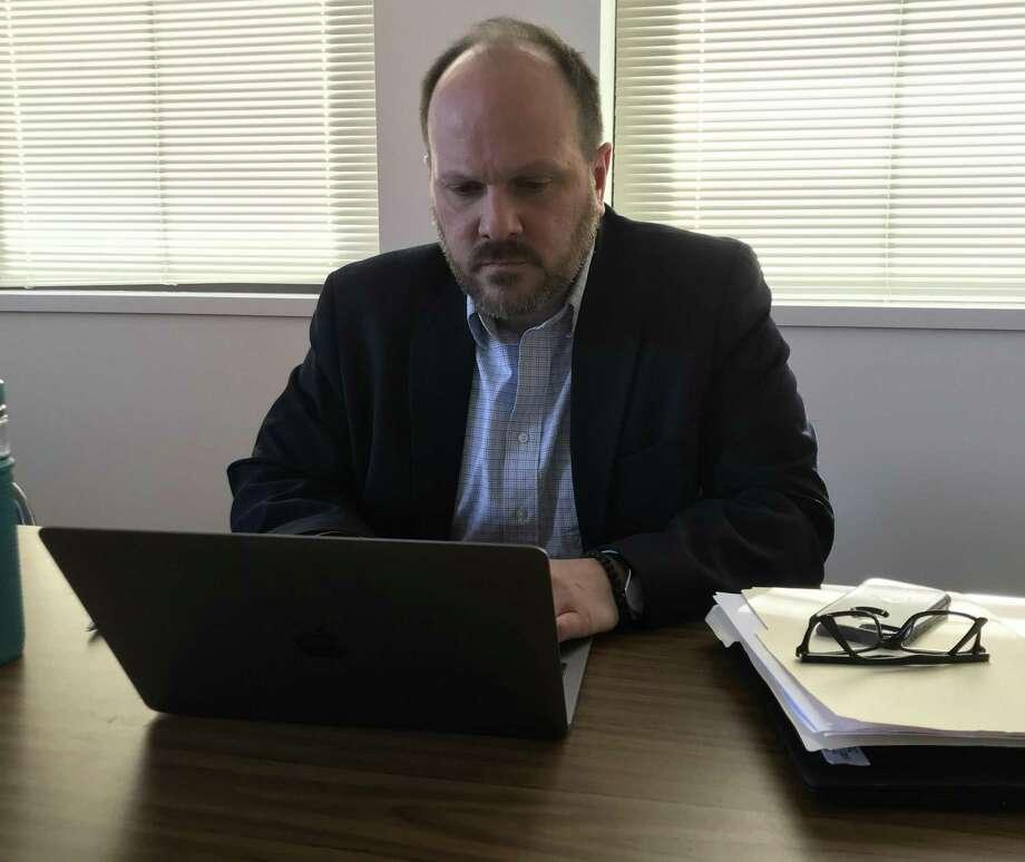 Cromwell Board of Education Chairman Michael Camilleri. Photo: Jeff Mill / Hearst Connecticut Media